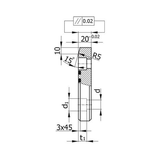 Picture of Sliding Pad Model D065