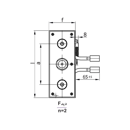 Picture of Manifold Block Model H52401