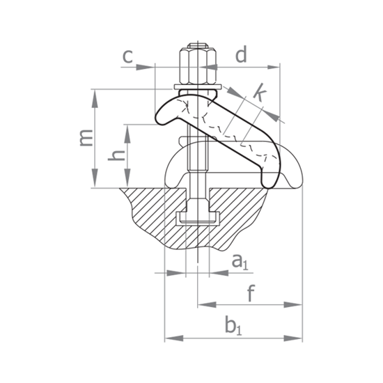 Picture of CLAMP, INFINITELY VARIABLE Model E304