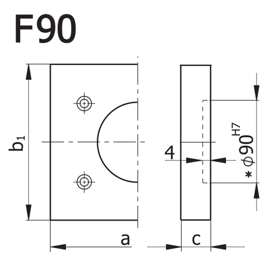 Picture of Plate Model F90