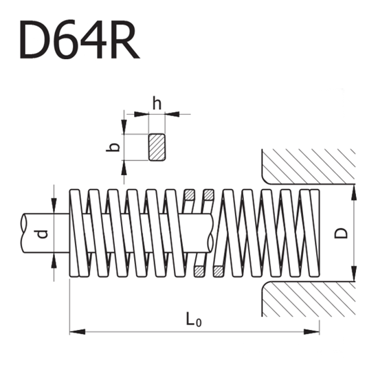 Picture of Red Spring MODEL D64R