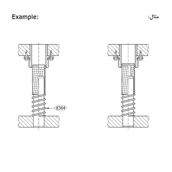Picture of Helical Springs Model E364